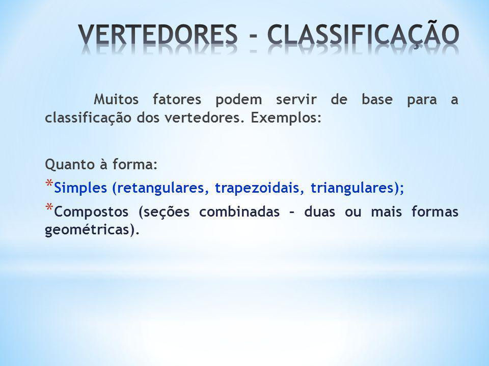 VERTEDORES - CLASSIFICAÇÃO