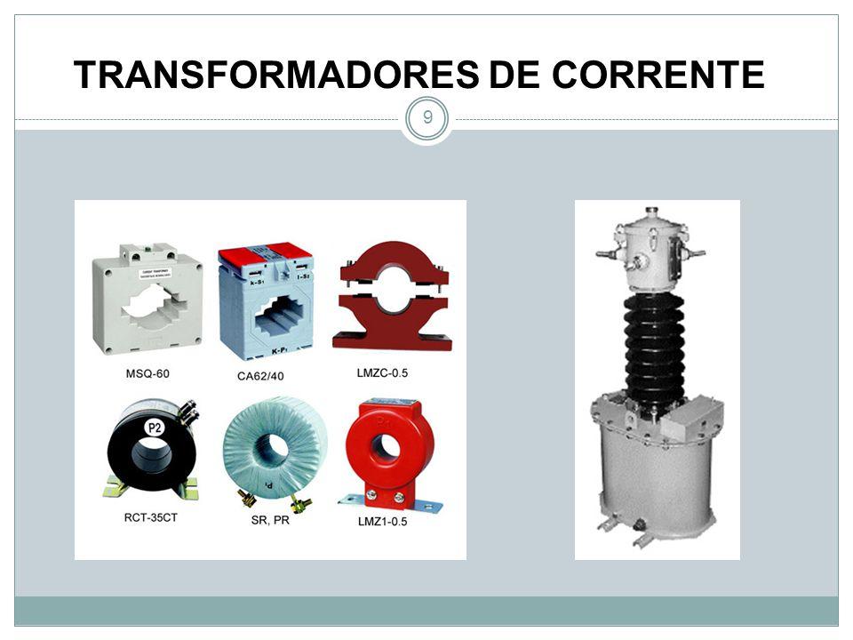 TRANSFORMADORES DE CORRENTE