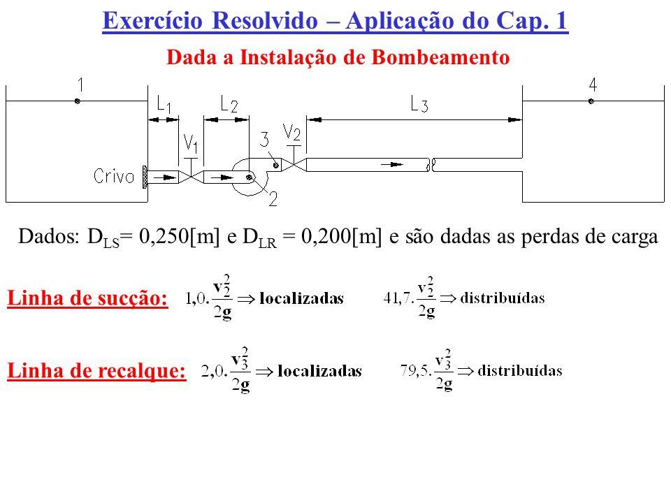 Exercício Resolvido – Aplicação do Cap. 1