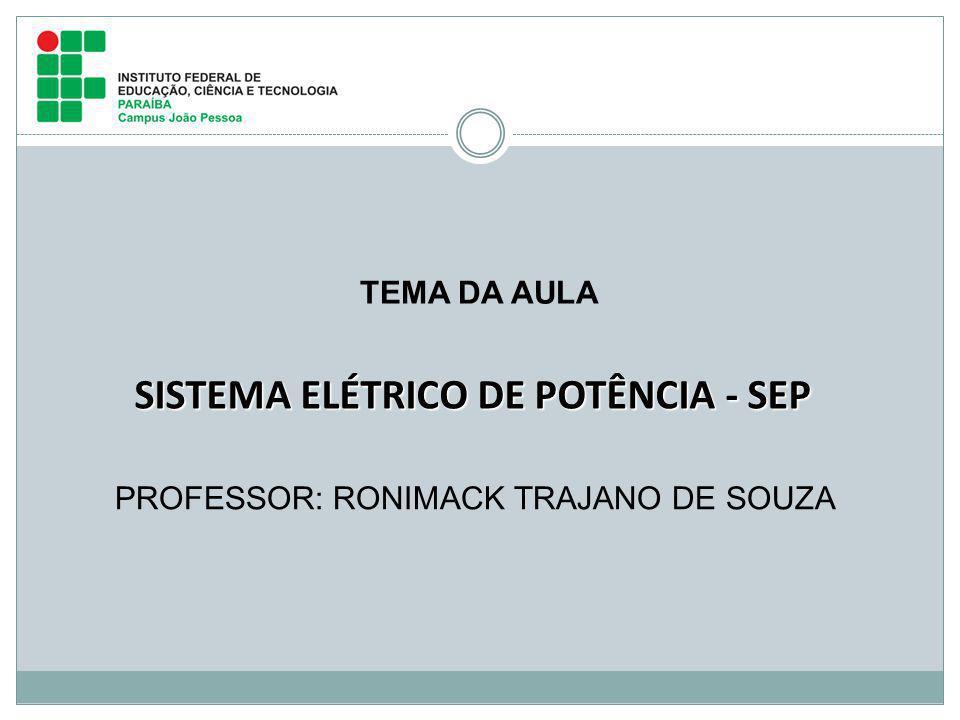 SISTEMA ELÉTRICO DE POTÊNCIA - SEP