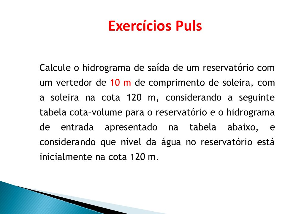 Exercícios Puls