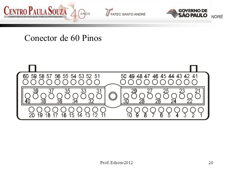 Conector de 60 Pinos Prof. Edson-2012