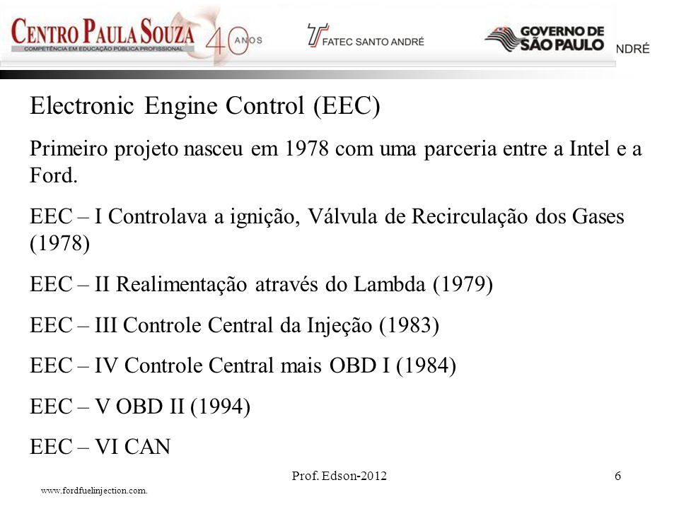 Electronic Engine Control (EEC)