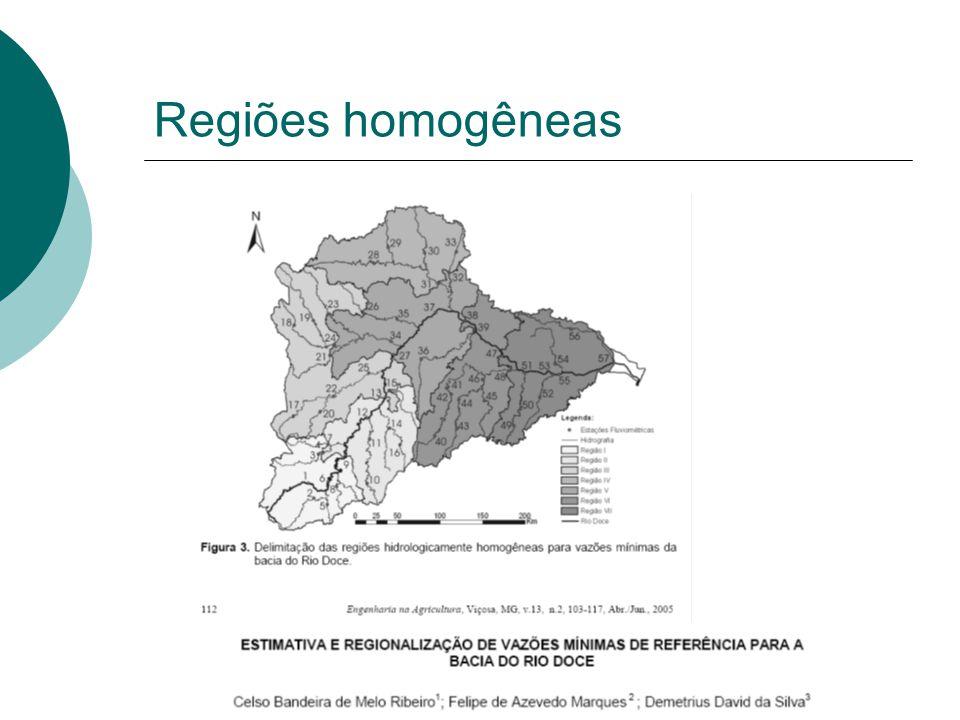 Regiões homogêneas