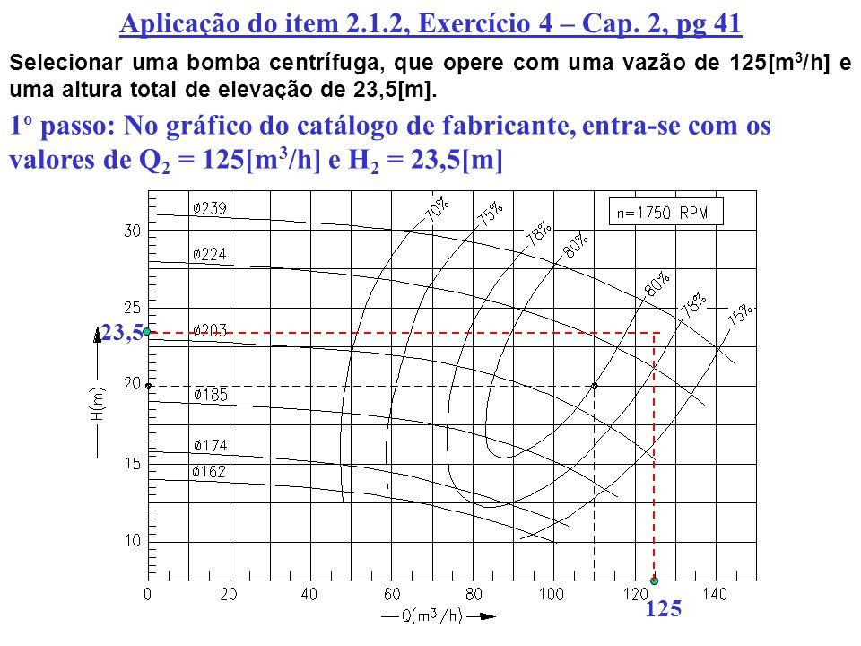 Aplicação do item 2.1.2, Exercício 4 – Cap. 2, pg 41