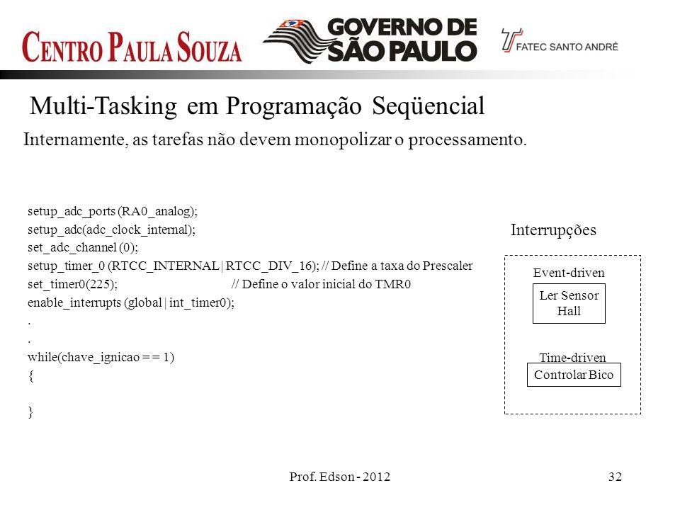 Multi-Tasking em Programação Seqüencial