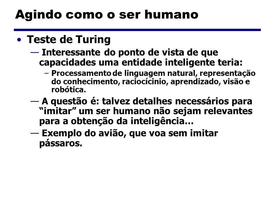 Agindo como o ser humano