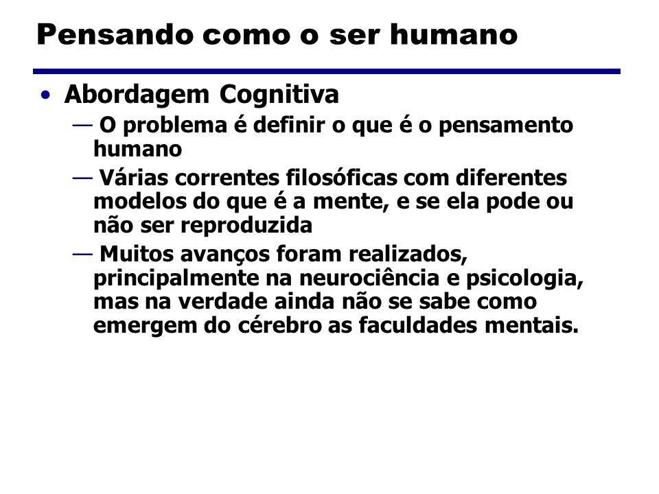 Pensando como o ser humano