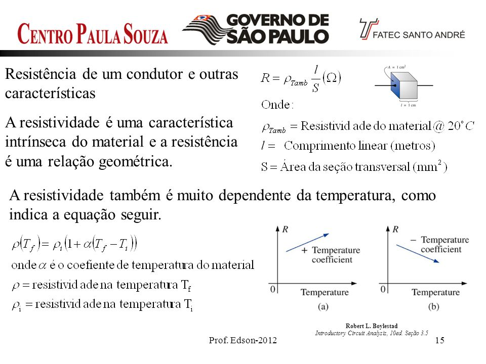 Robert L. Boylestad Introductory Circuit Analysis, 10ed. Seção 3.5