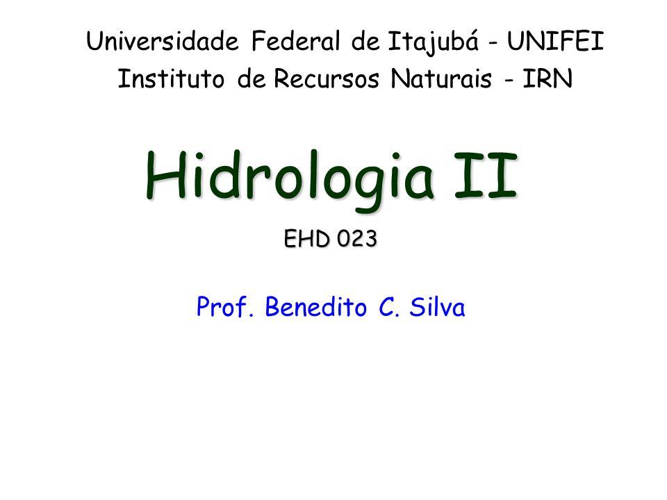 Hidrologia II Universidade Federal de Itajubá - UNIFEI