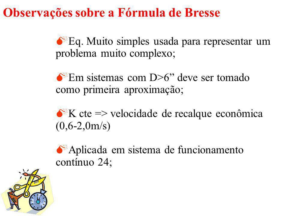 Observações sobre a Fórmula de Bresse