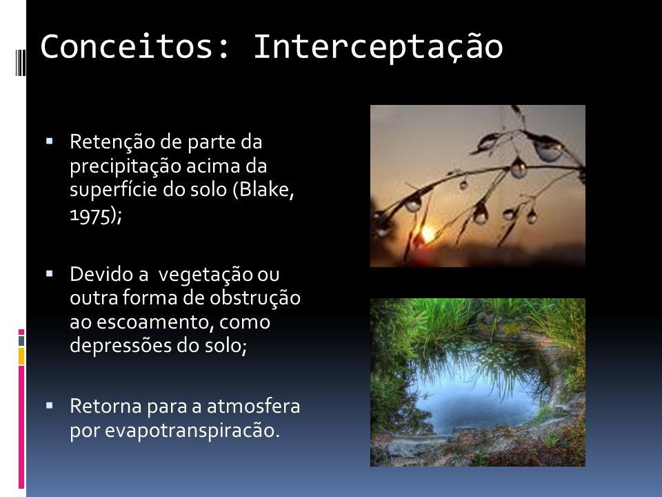 Conceitos: Interceptação