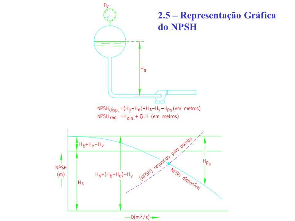 2.5 – Representação Gráfica do NPSH