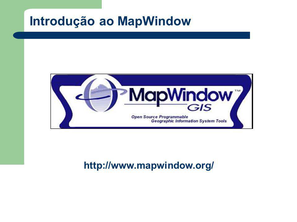 Introdução ao MapWindow