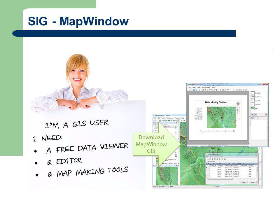 SIG - MapWindow