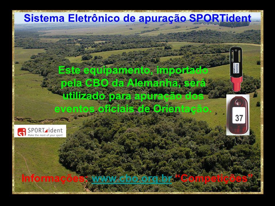 Sistema Eletrônico de apuração SPORTident