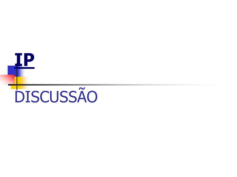 IP DISCUSSÃO