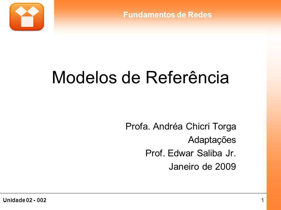 Modelos de Referência Profa. Andréa Chicri Torga Adaptações