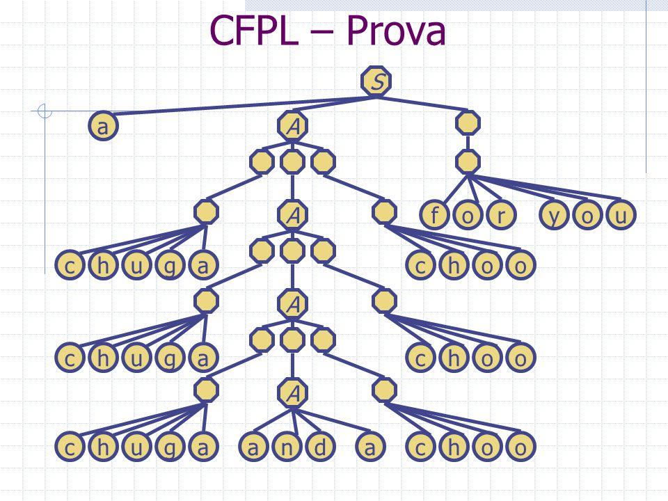 CFPL – Prova S a A A f o r y o u c h u g a c h o o A c h u g a c h o o