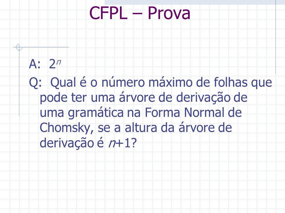 CFPL – Prova A: 2n.