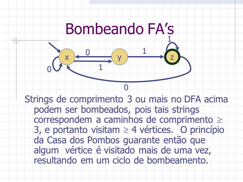 Bombeando FA's 1. x. y.