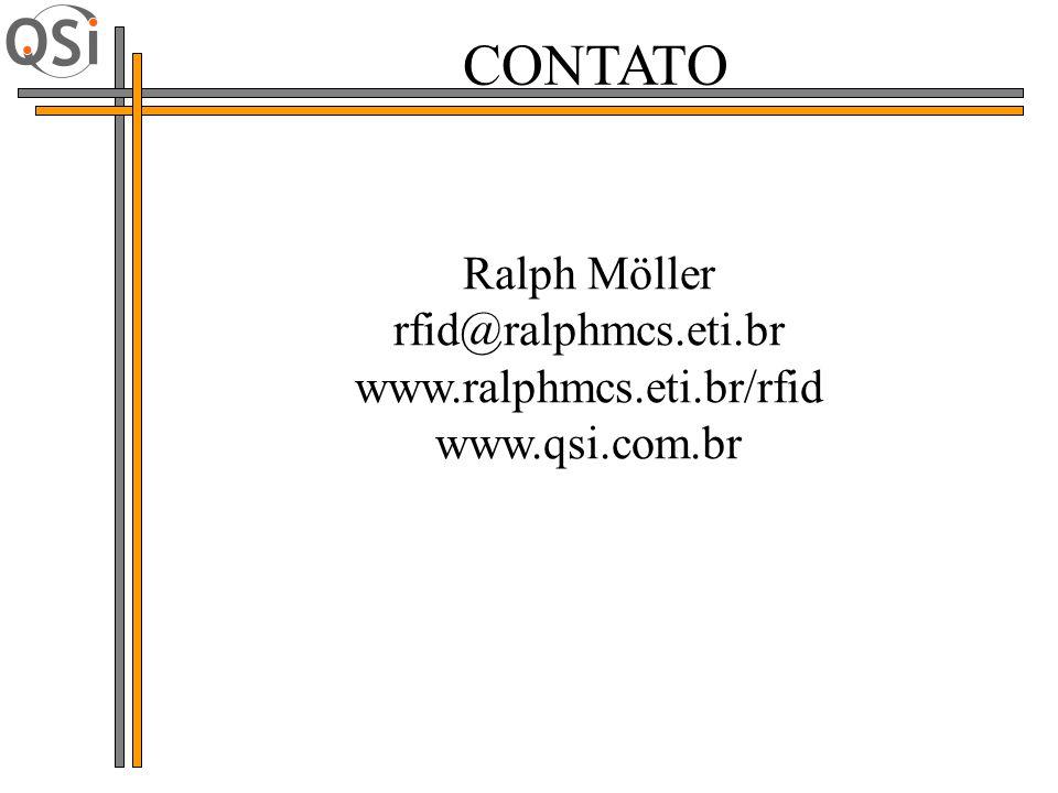CONTATO Ralph Möller rfid@ralphmcs.eti.br www.ralphmcs.eti.br/rfid