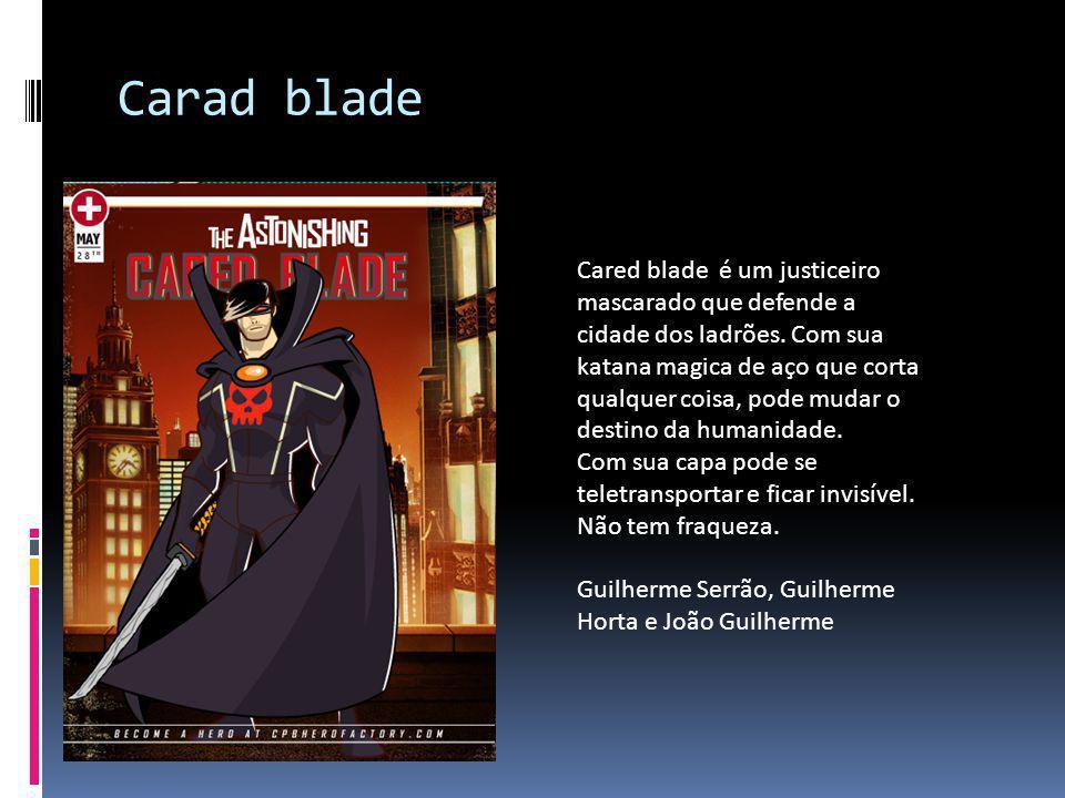 Carad blade
