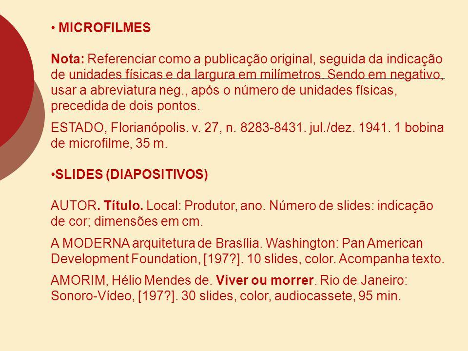 MICROFILMES