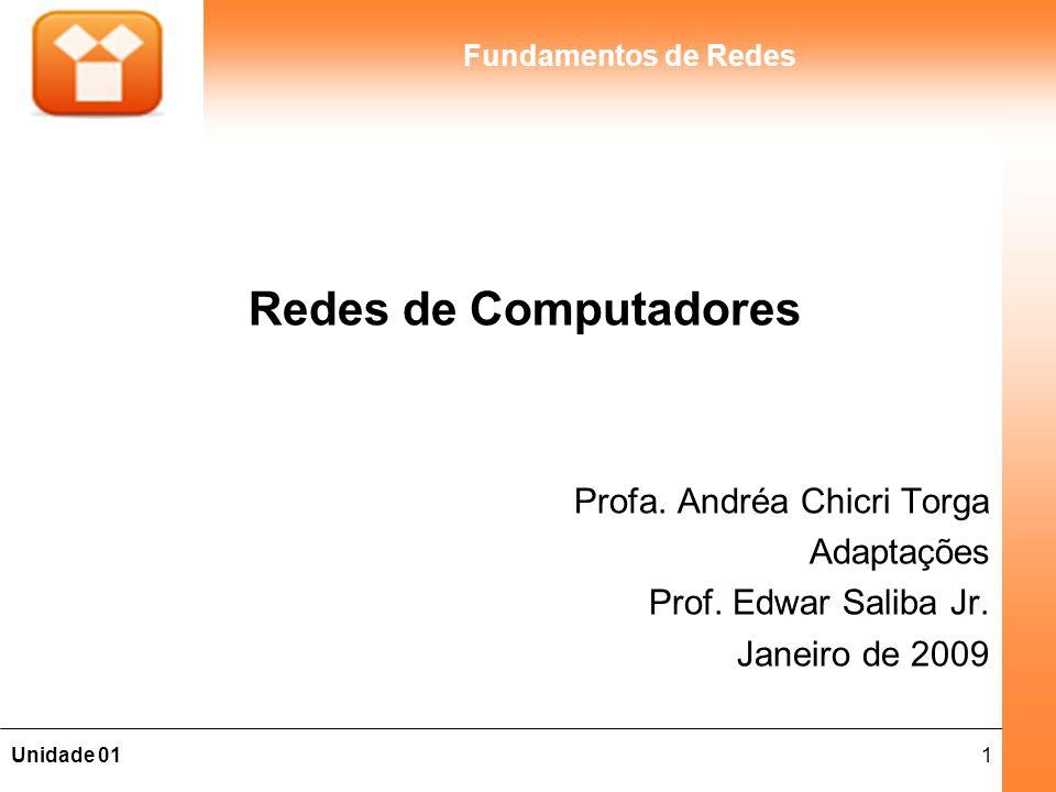 Redes de Computadores Profa. Andréa Chicri Torga Adaptações