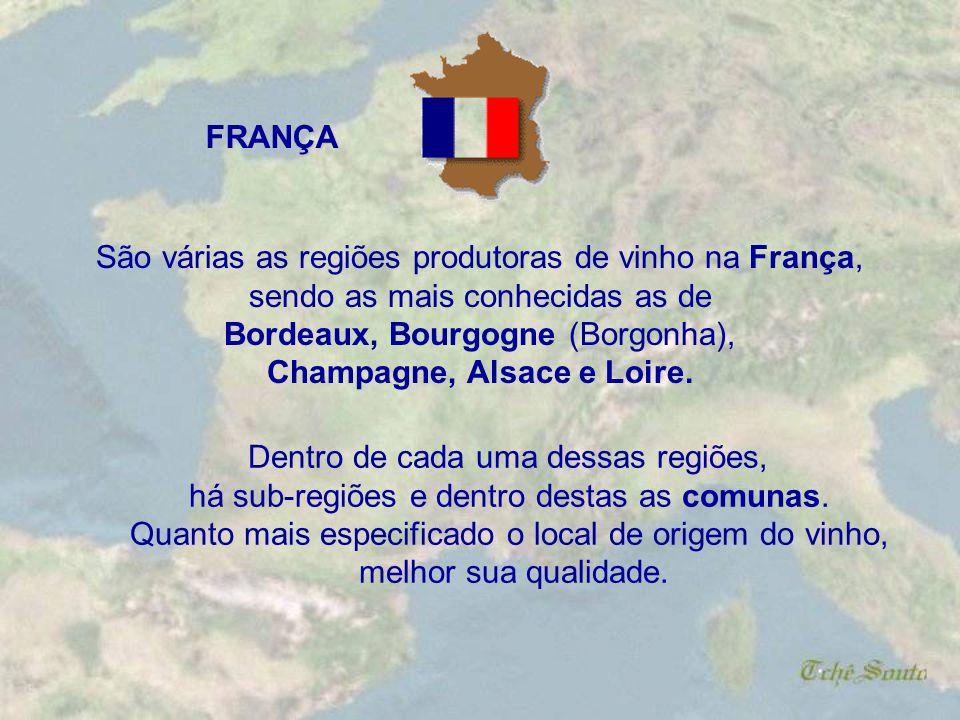 Champagne, Alsace e Loire.