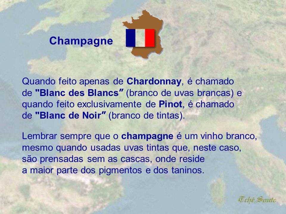 Champagne Quando feito apenas de Chardonnay, é chamado