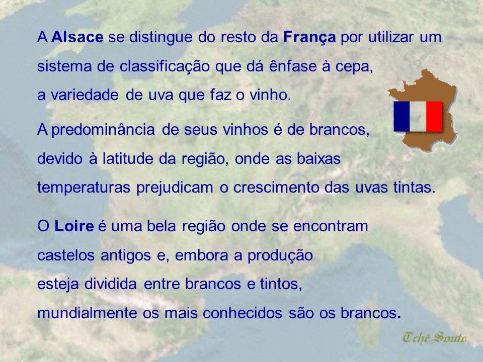 A Alsace se distingue do resto da França por utilizar um