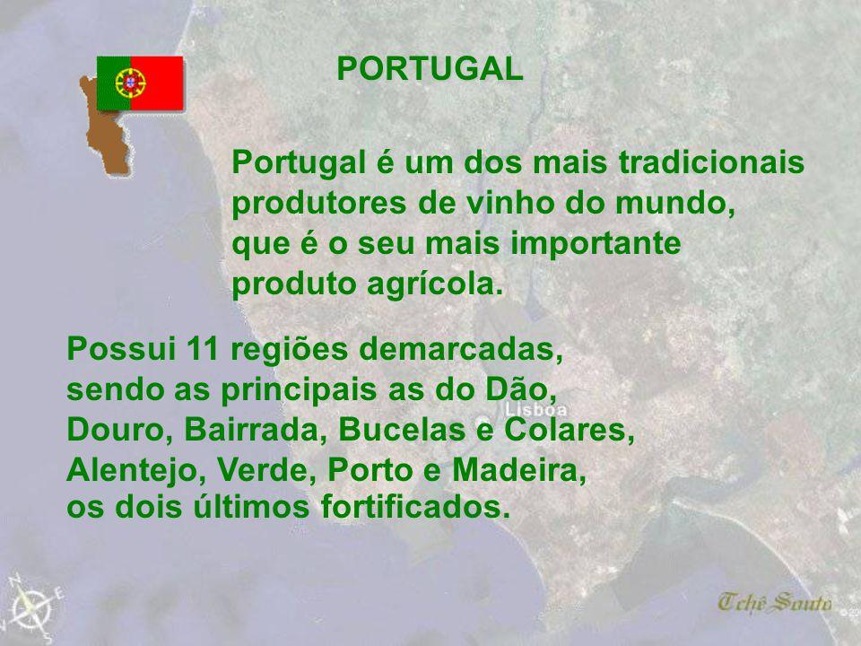 Portugal é um dos mais tradicionais produtores de vinho do mundo,