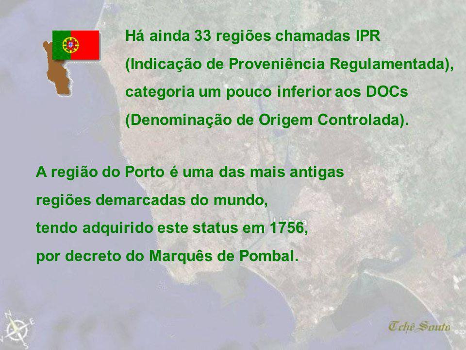 Há ainda 33 regiões chamadas IPR
