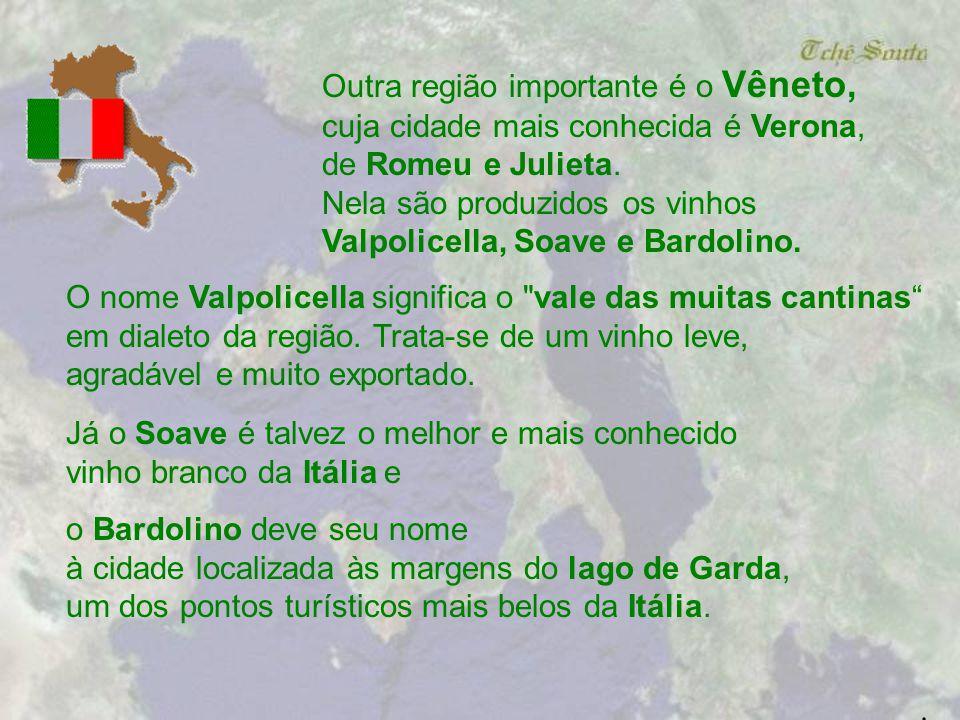 Outra região importante é o Vêneto,