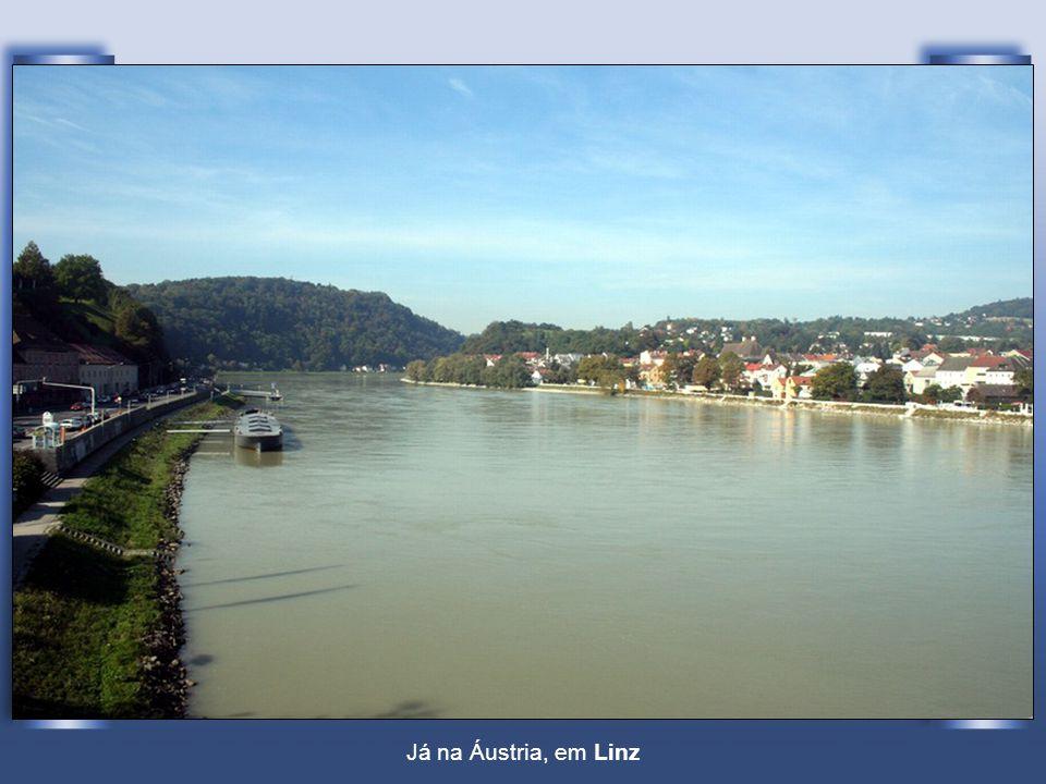 Já na Áustria, em Linz