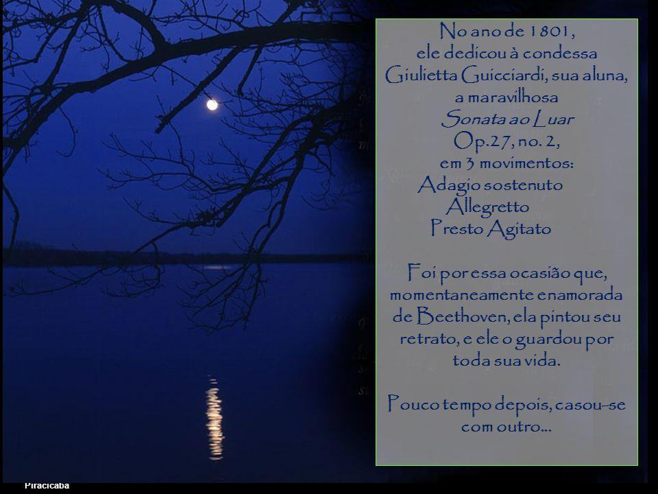 Giulietta Guicciardi, sua aluna, a maravilhosa Sonata ao Luar