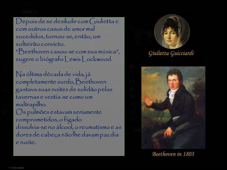 Beethoven casou-se com sua música , sugere o biógrafo Lewis Lockwood.