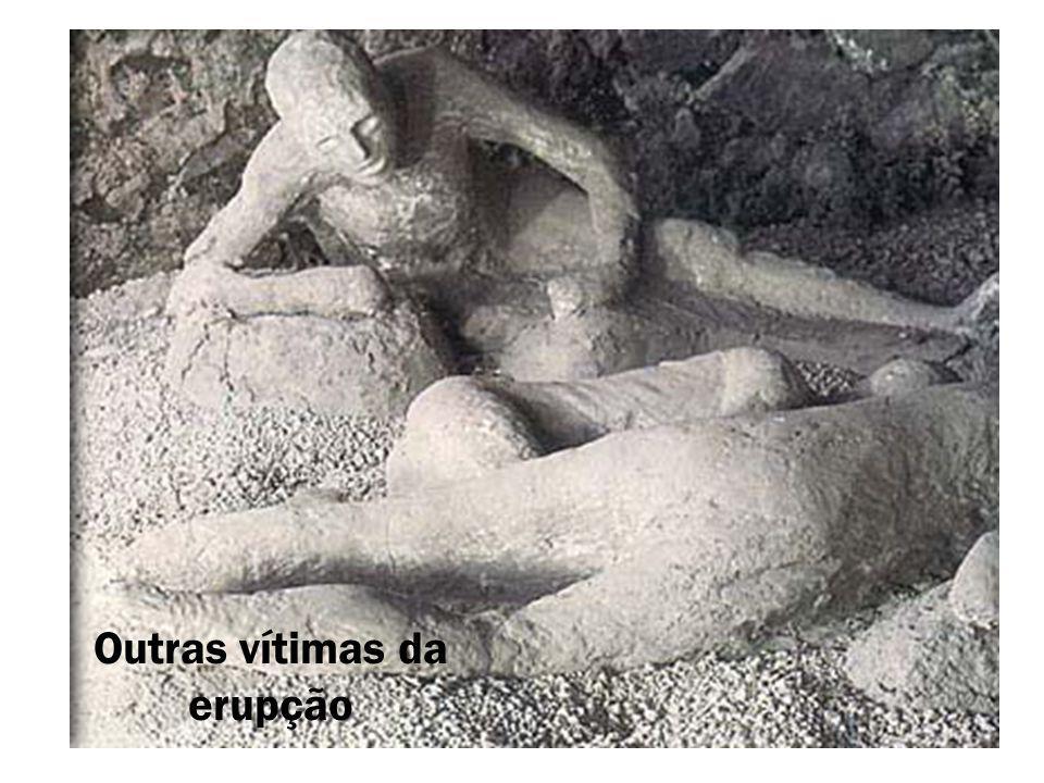 Outras vítimas da erupção