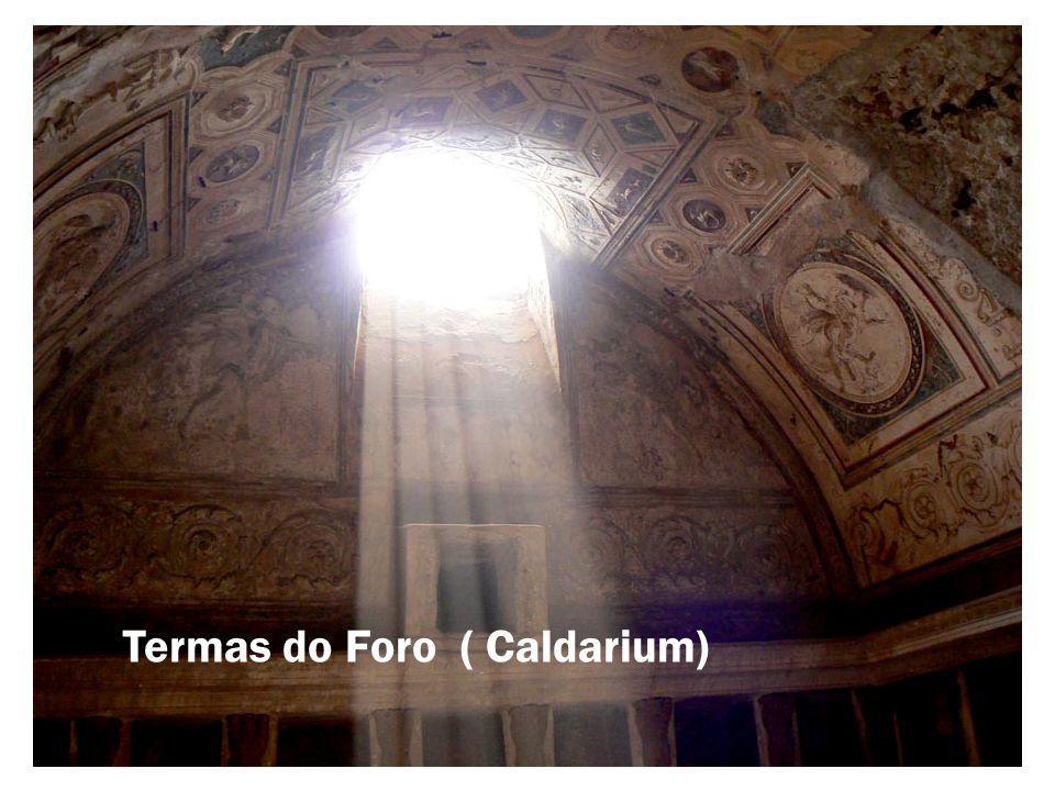 Termas do Foro ( Caldarium)