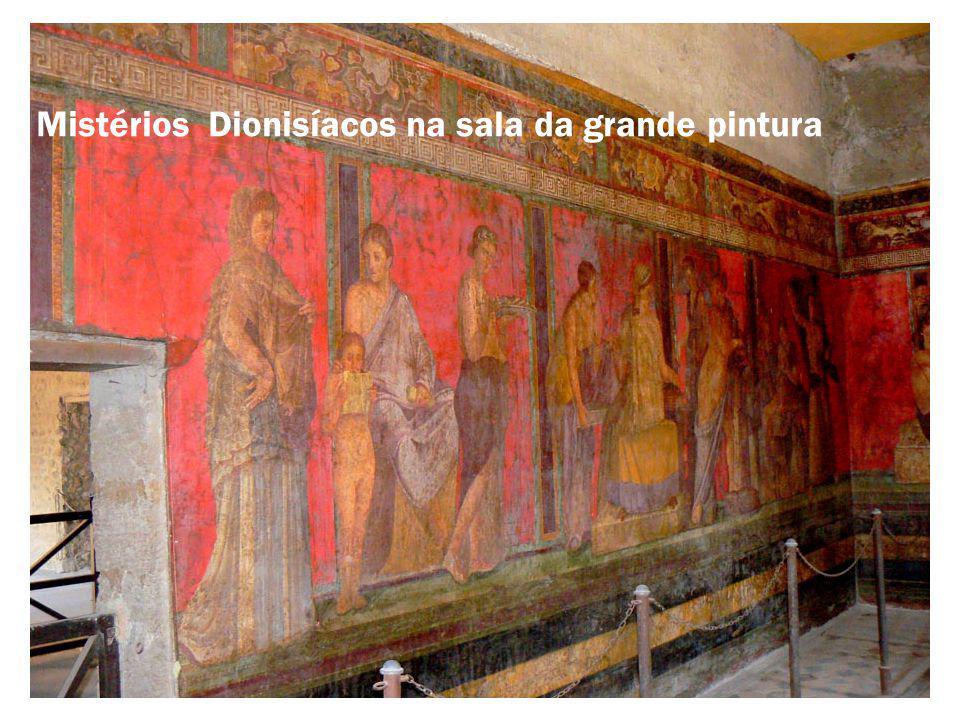 Mistérios Dionisíacos na sala da grande pintura