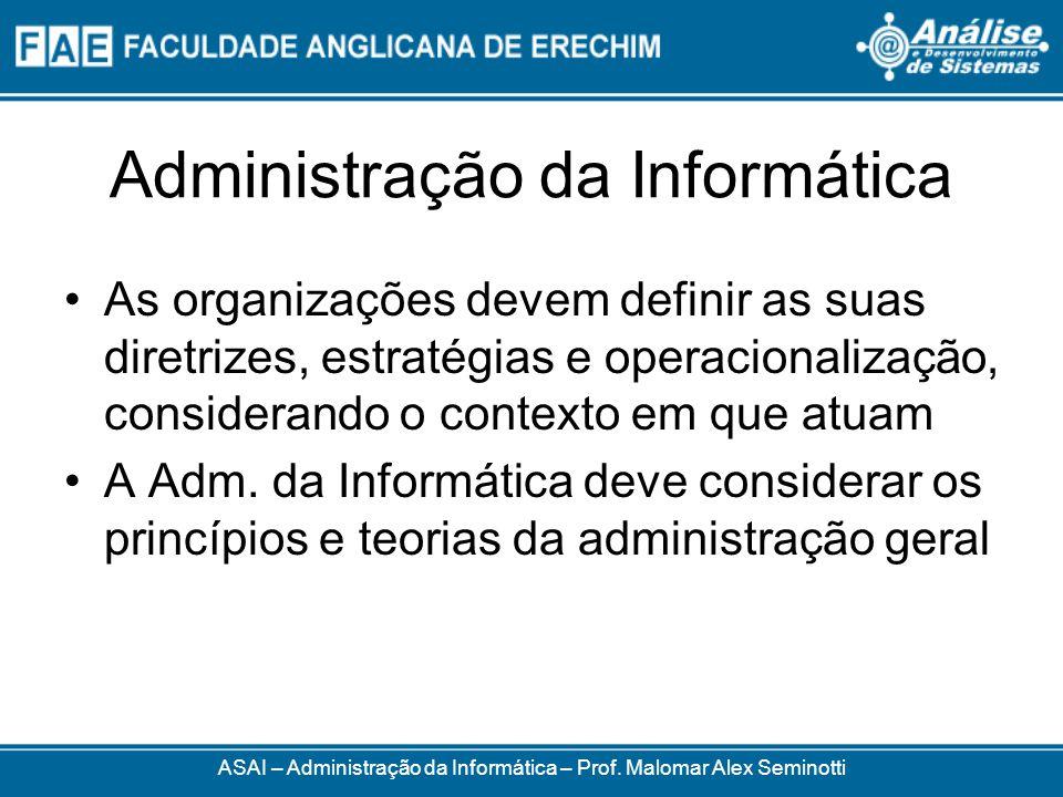 Administração da Informática