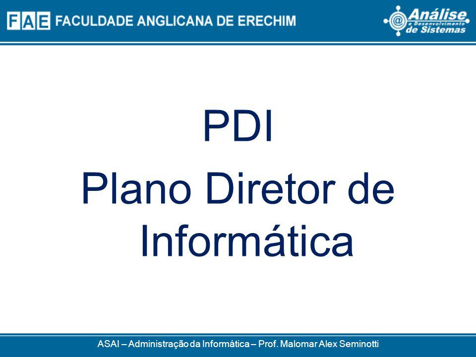 Plano Diretor de Informática