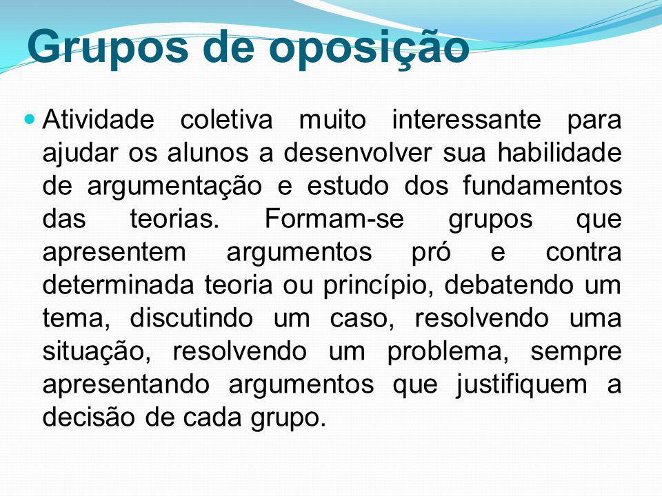 Grupos de oposição