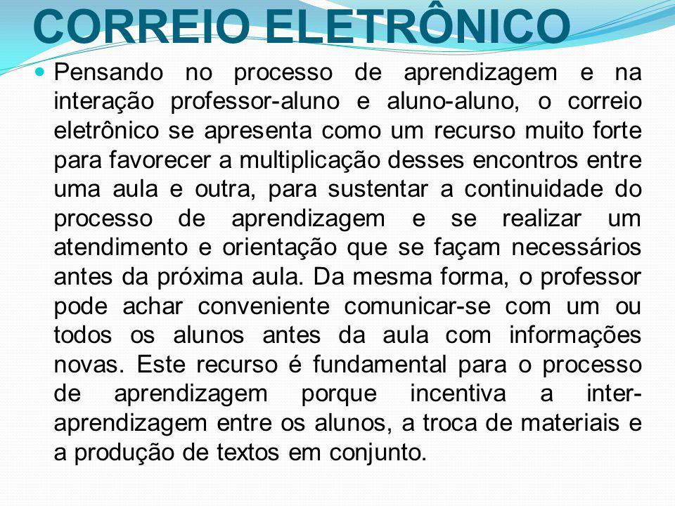 CORREIO ELETRÔNICO