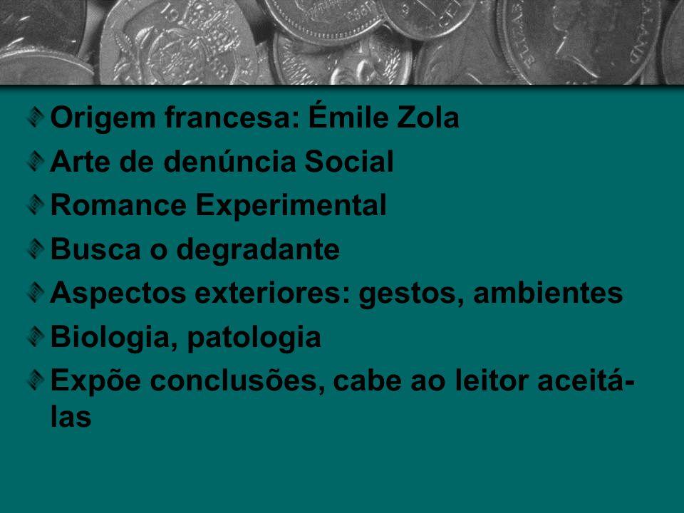 Origem francesa: Émile Zola
