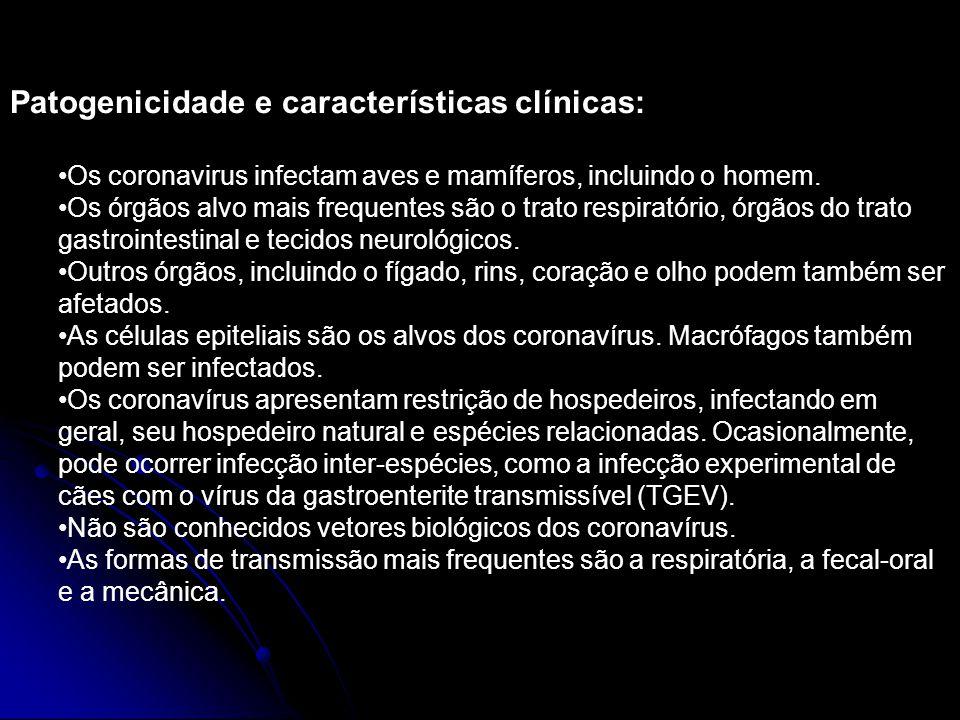Patogenicidade e características clínicas: