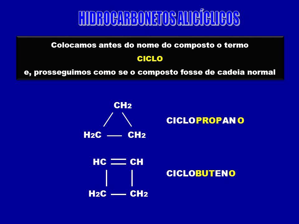 HIDROCARBONETOS ALICÍCLICOS