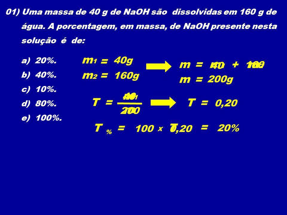 m1 = m = m1 + m2 m2 = m = m1 T = T = m T = T = 40g 40 160 160g 200g 40