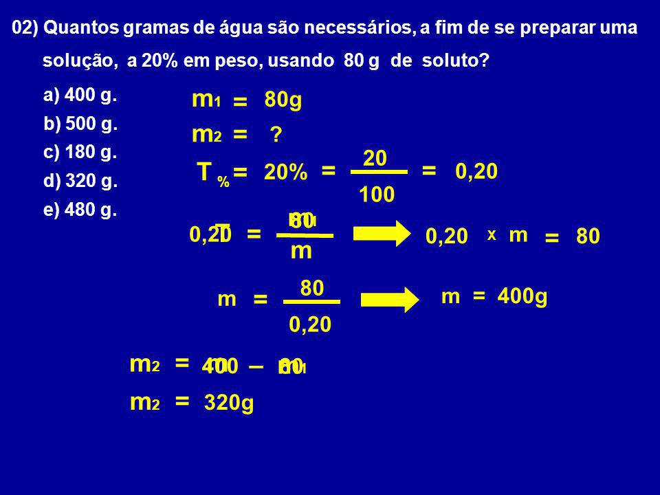 m1 = m2 = T = = = m1 T = = m = m2 = m – m1 m2 = 320g